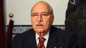 Fouad Mebazaa, el primer presidente de la República de Túnez.