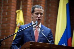 Juan Guaido,reconocido por mas de 50 paises como presidente interino de Venezuela.