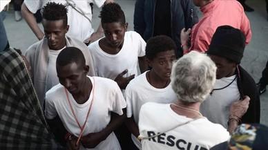 Los 123 menores no acompañados del 'Aquarius' se quedarán en València