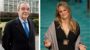 Isabel Sartorius y César Alierta.