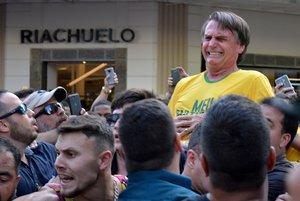 El6 de septiembre del año pasado, Jair Bolsonaro fue atacado por un sujeto con problemas mentales.