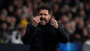 Simeone es responsabilitza de la derrota de l'Atlètic