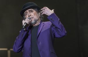 Joaquin Sabina, durante un concierto en Barcelona en junio del 2017