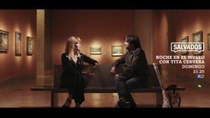 Jordi Évole y Tita Cervera en la nueva promoción de 'Salvados'.