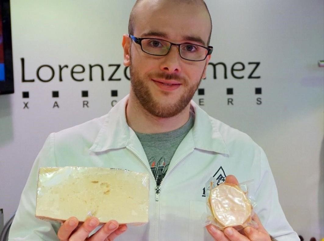 Carlos Gómez. del mercado de Canyelles.
