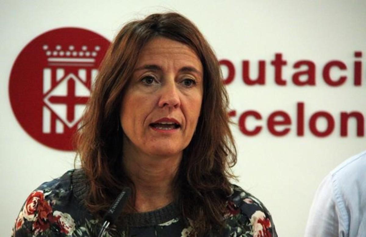 La alcaldesa de Sant Cugat y presidenta de la Diputació de Barcelona, Mercè Conesa.