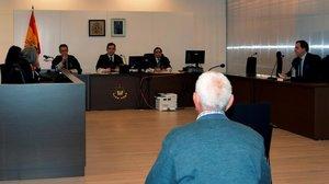 Juicio por violencia machista en Palencia.