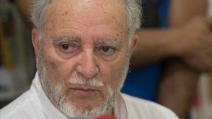 Julio Anguita en una foto de archivo.