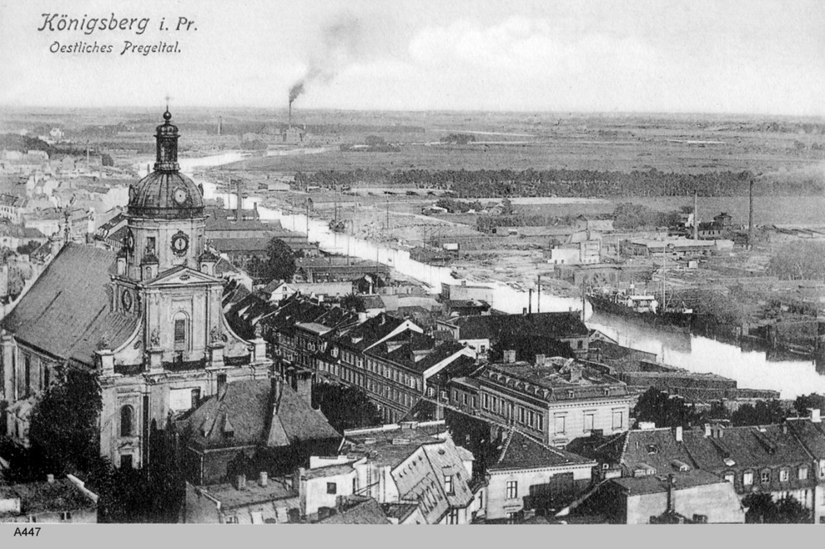 Konigsberg, la ciudad natal de Kant.