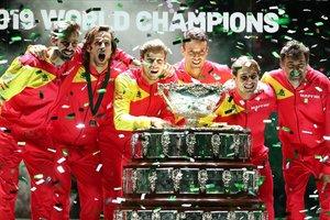 Nadal engeganteix el seu mite i porta Espanya al títol de la Copa Davis