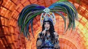 Cher, en el casino MGM Arenade Las Vegas.