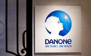 Logo de la compañía francesa Danone