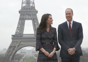 Los Duques de Cambridge en Paris