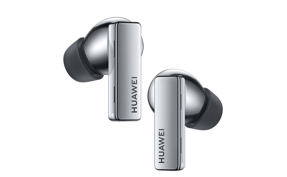 Los novedosos auriculares de Huawei.