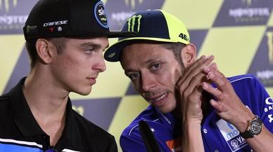 Luca Marini, el gen de la velocidad es de 'mamma' Stefania y no de Rossi