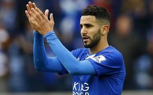 Mahrez, con la camiseta del Leicester, esta pasada temporada