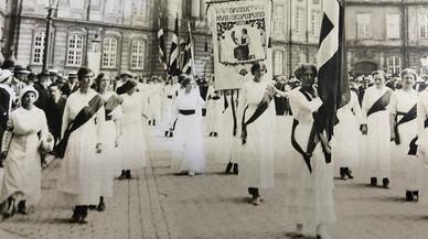 Marciala, testigo del voto femenino en 1915
