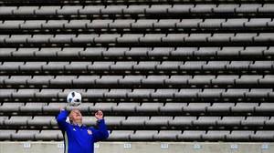 """Del Bosque: """"Sóc molt tossut"""""""
