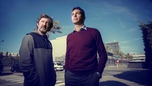 """""""Darrere el rondo hi ha una filosofia de futbol"""", conversa entre Amor i Bakero sobre l'estil del Barça"""
