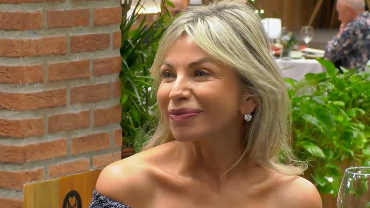 María en 'First Dates'.