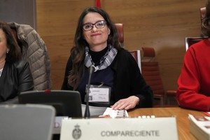 La vicepresidenta de la Generalitat valenciana, Mónica Oltra.