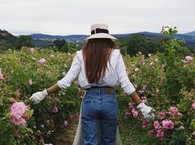 La instagramer Nina Urgell promocionando un perfume de Chanel. Daydreaming@chanelofficial#newchanel5.