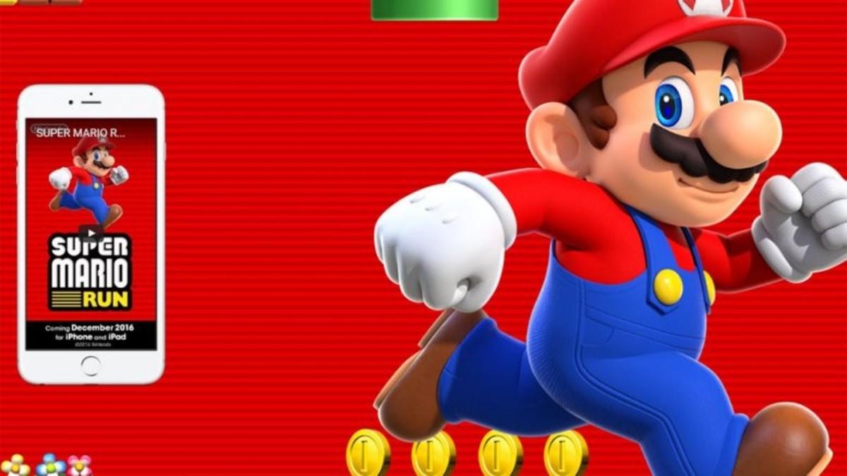 Super Mario se mete en el iPhone 7