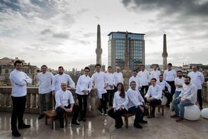 Varios de los cocineros que participarán en Passeig de Gourmets.