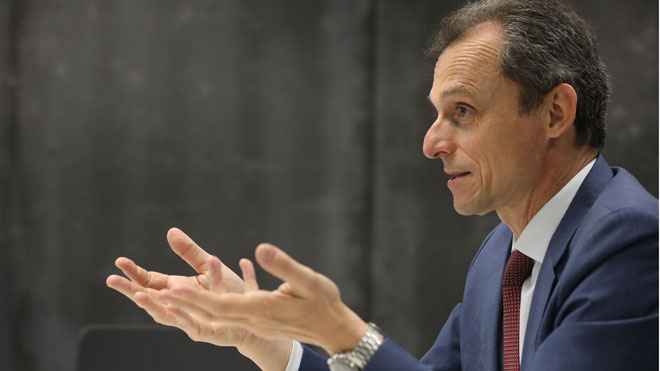 Pedro Duque: España tiene posibilidad de convertirse en un suministrador de vacunas.