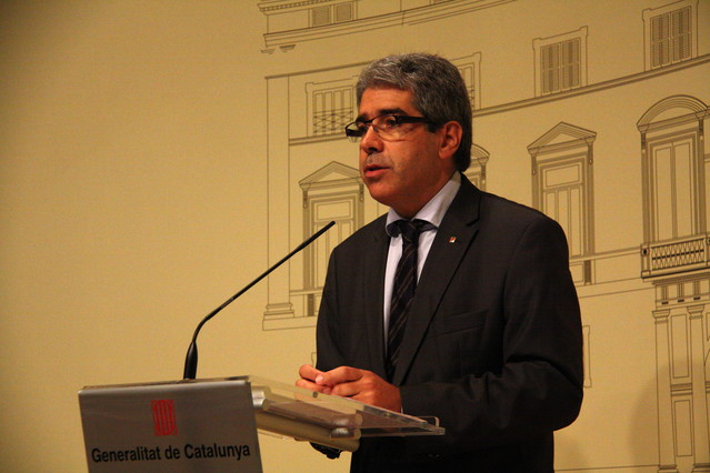 El portaveu del Govern, Francesc Homs.