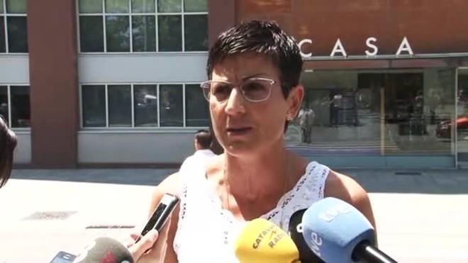 Declaraciones de Filo Cañete, portavoz del PSC en Sant Adrià del Besòs.
