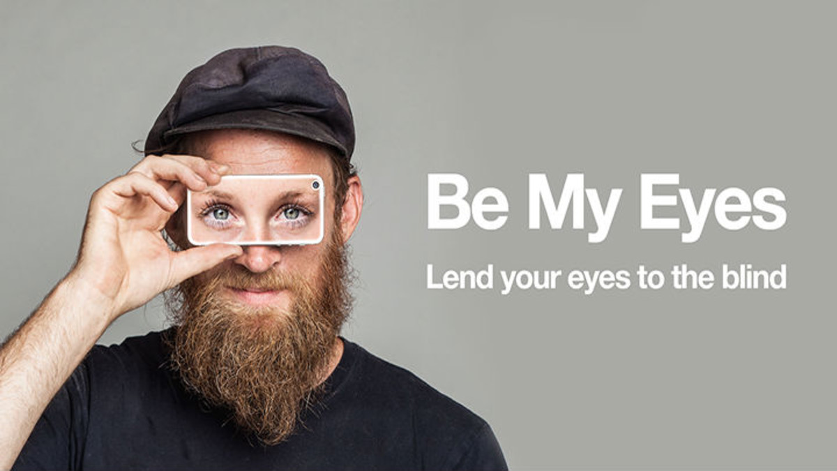 Presentación de la 'app' Be My Eyes.