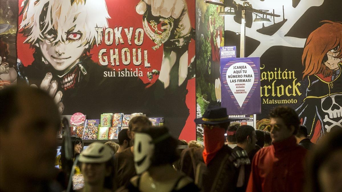 Público en la pasada edición del Salón del Manga.