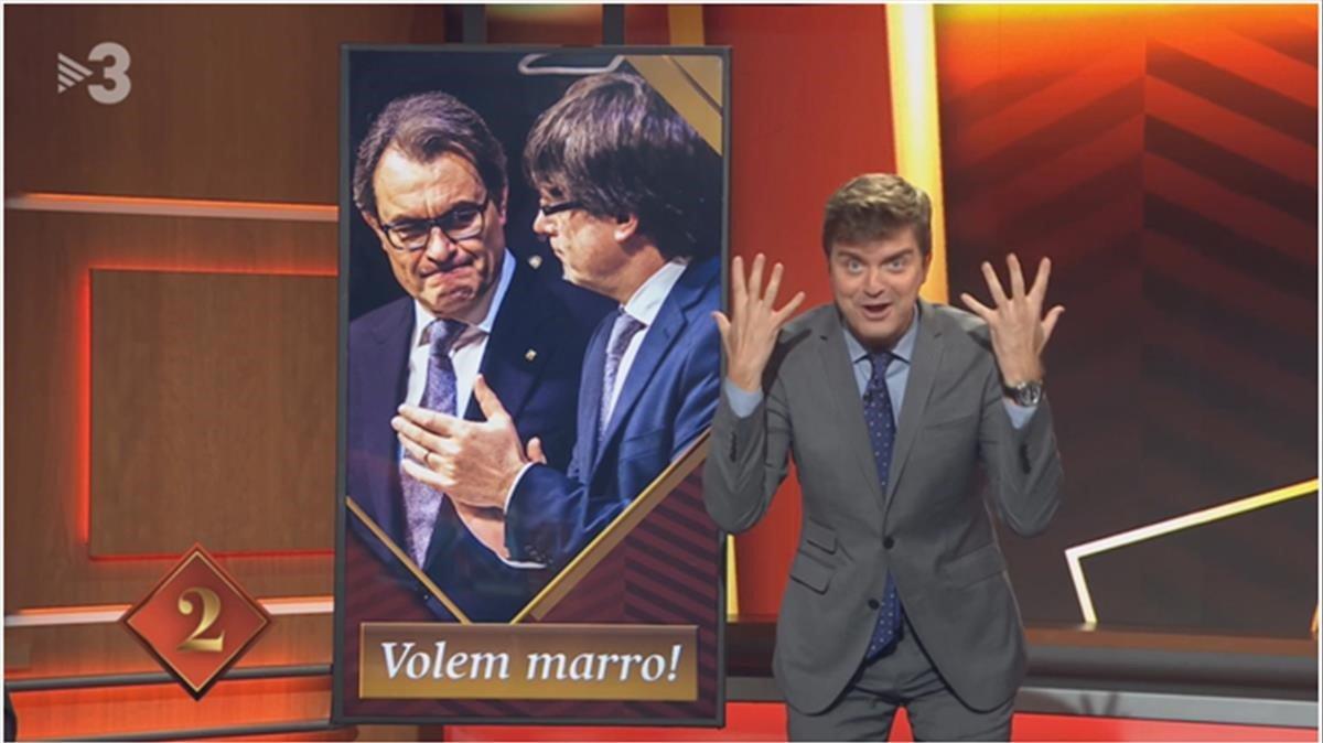 MarcGiró, impulsor del combate (TV-3).