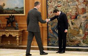 El Rey recibe por vez primera a Moreno tras el relevo en el Gobierno andaluz