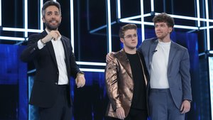 Roberto Leal junto a Gèrard y Jesús en 'OT 2020'.
