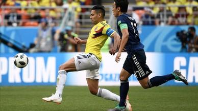 Colombia se estrella ante Japón sin Yerry Mina