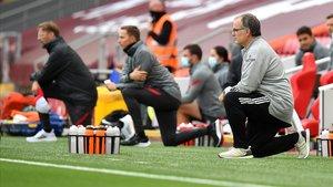 El Liverpool tomba Bielsa en una estrena espectacular a Anfield