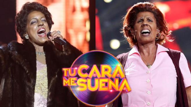 Ruth Lorenzo y Diana Navarro imitando a Aretha Franklin en Tu cara me suena.