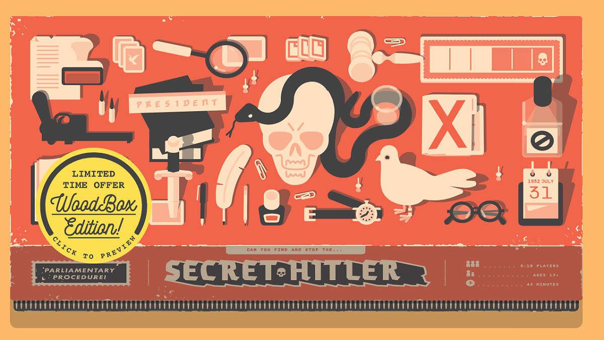 Secret Hitler: un juego de mesa sobre el ascenso del fascismo.
