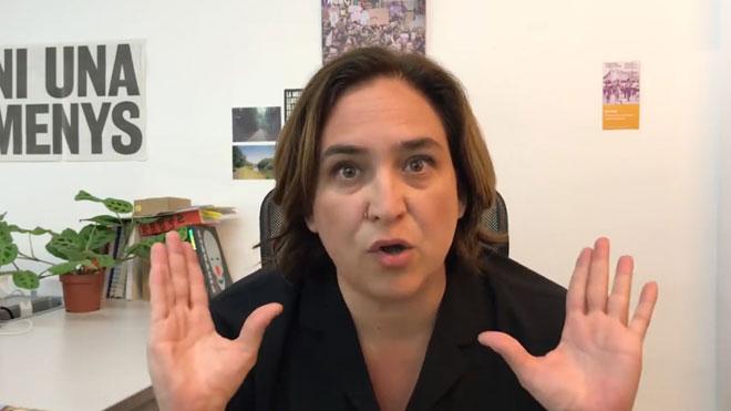 La tercera entrega de Ada Colau en su canal de Youtube.
