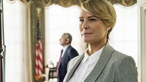 La sexta y última temporada de la serie tendrá como personaje principal a Claire Underwood (Robin Wright).