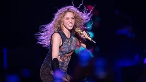 Shakira, en su concierto inaugural de gira en Hamburgo.