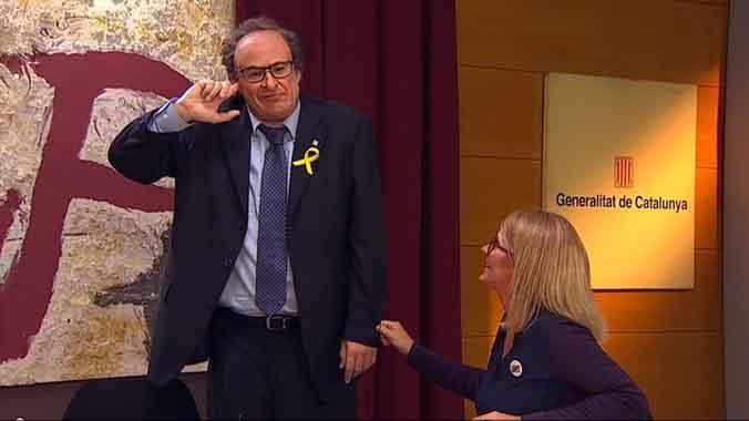 La actual Generalitat, según Polònia (TV-3).