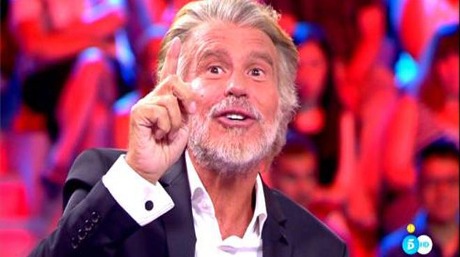 Risto Mejide entrevistó a Bigote Arrocet en el programa All you need is love, o no, de Tele 5.
