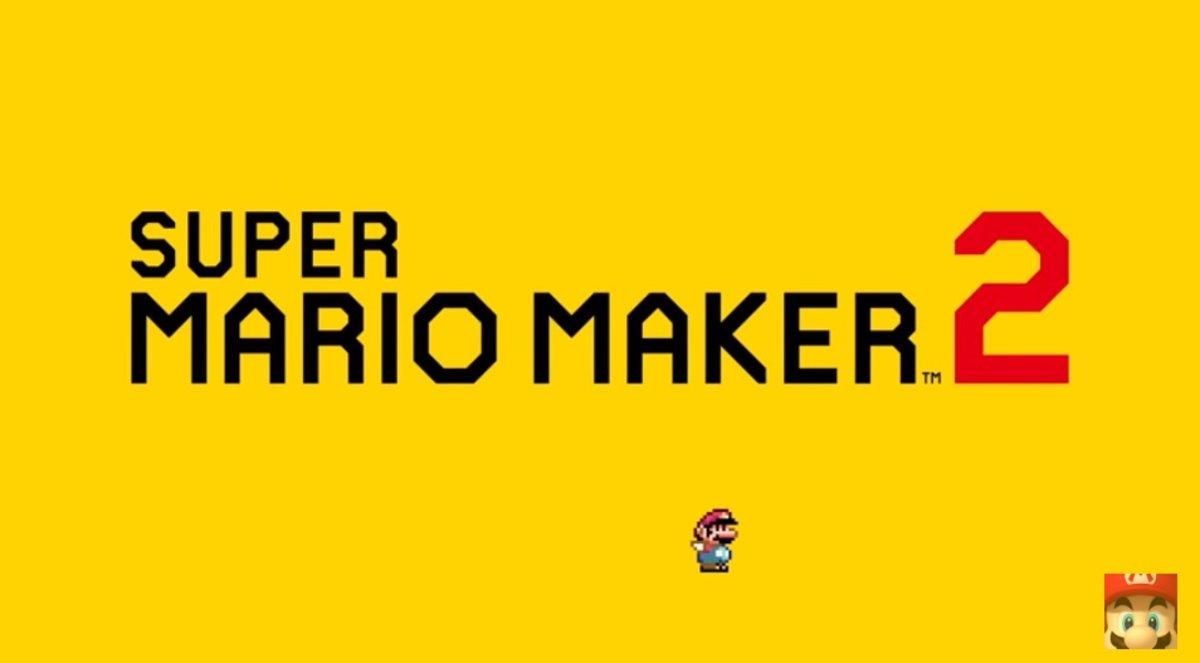 El esperado Super Mario Maker 2, del que Nintendo ha revelado pocos detalles, saldrá a la venta en el mes de junio.