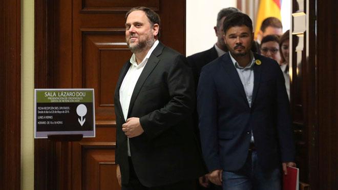El Supremo deniega el permiso a Junqueras para jurar su cargo de eurodiputado.