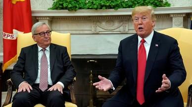 Juncker frena la guerra comercial de Trump con algunas concesiones