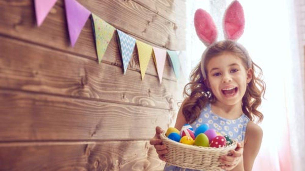 Huevos de Pascua: manualidades para niños en una Semana Santa en casa