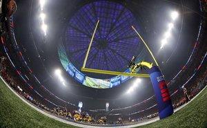 Una vista general durante la Super Bowl entre los Angeles Rams y los New England Patriots en el Mercedes-Benz Stadium de Atlanta, Georgia.